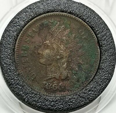 1865 Indian Head Penny 1C Cent