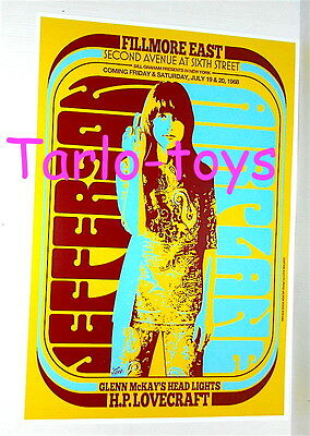 JEFFERSON AIRPLANE - New York, Usa 19 july 1968  - concert poster