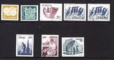 Sweden 1976 Issues - Mixed