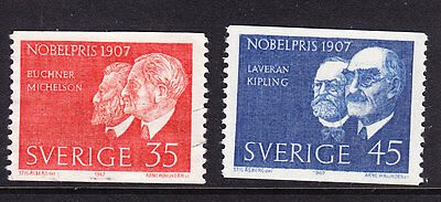 Sweden 1967 - Nobel Prize Winners- complete set - MNH
