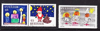 Sweden 1972 - Christmas - Complete set - MNH