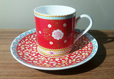 Maxwell & Williams Cashmere Enchante Veronique Demi/Esspresso Cup & Saucer - New