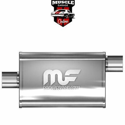 "14326 - 2.5"" Inlet/Outlet 4""x9""x14"" Body - Stainless Steel Magnaflow Muffler"