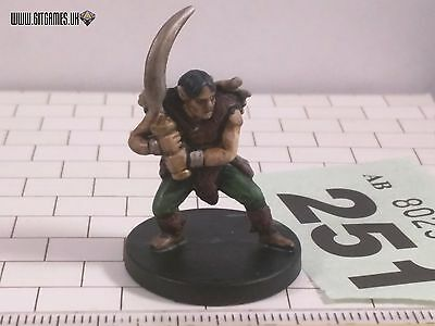 D&D WILD ELF RIDER 29/60 CG 6 Dungeons Dragons Wizards 2005 [251]