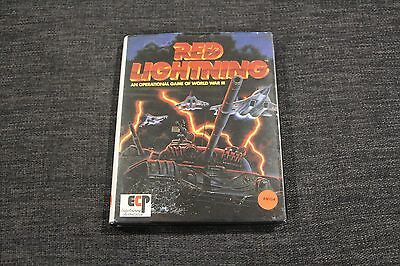 Red Lightning Vintage Amiga Game ECP Australia Rare