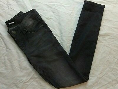 Hudson childrens kids girls skinny jeans Preteen Size 12 Gray Black