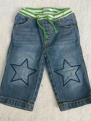Infant baby kids clothing 6-12 months jeans pants BABY BODEN
