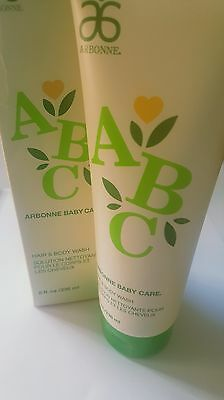 [Boxed/New] Arbonne Baby Care Hair & Body Wash 8oz