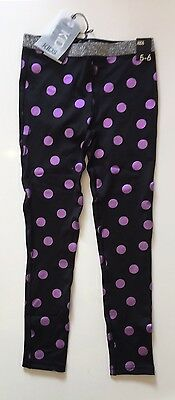 NEW COTTON ON KIDS Girl Leggings Sporty Activewear Size 5-6 years old RRP$18.95