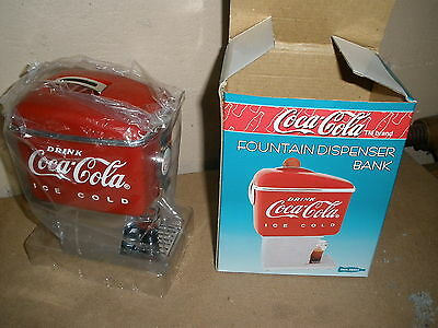 coca cola Fountain Dispenser BANK - new