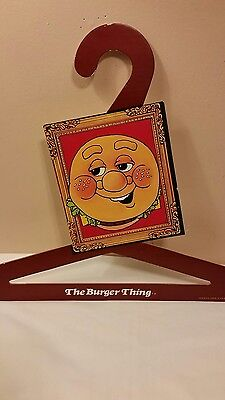 Rare Finding, Vintage -THE BURGER THING- HANGER 1979 MADE IN U.S.A