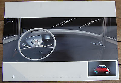 BMW Isetta 300 (1955-1962) Print of Dashboard - Suitable for Framing