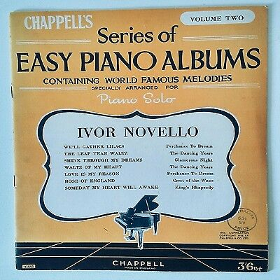 Easy Piano Music Sheets Volume 2- Vintage