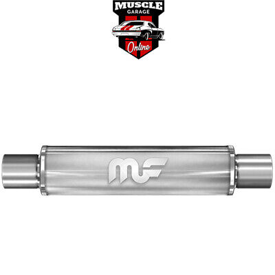 "14414 - 2"" Inlet/Outlet 4""x14"" Body - Stainless Steel Magnaflow Muffler"