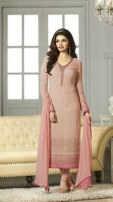 Pakistani Indian Bollywood Dresses For Wedding Party EID/Georgette Semi-Stitched