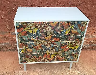 Vintage Retro Upcycled Chest Of Drawers (TORQUAY)