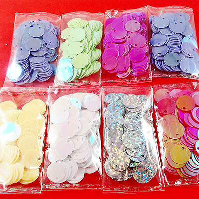 960pcs ROUND sequin EMBELLISHMENTS MIX - craft cardmaking sewing toppers