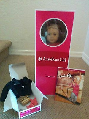 """American Girl 18"""" Doll Isabelle With Highlights And Accessories GOTY 2014"""