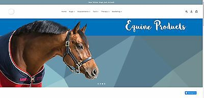 Equine Supplements, Horse Rugs & tack Internet business for sale