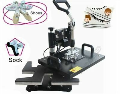 Shoes Heat Press Machine Image Printing Rosin Press Machine Onto Shoes B