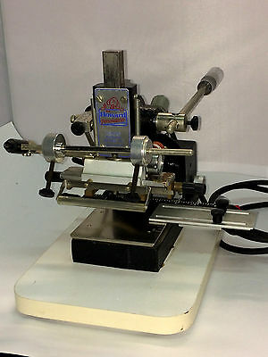 Howard Personalizer 150 Hot Stamp Machine with Typeset and Parts, FREE Shipping