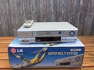 Serviced LG EC-290 Video Recorder Player + REMOTE VHS Player VCR