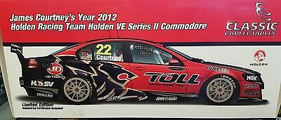 1:18 James Courtney 2012 Toll Holden Racing Team Commodore VE2 18501