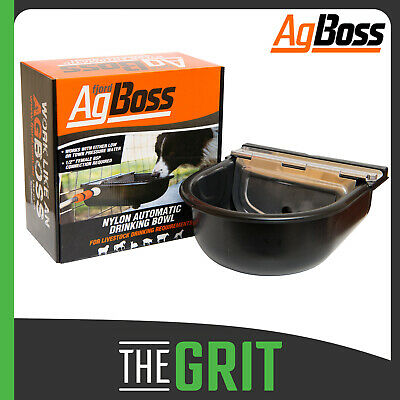 AgBoss 5L Nylon Self Filling Automatic Water Bowl Dogs Pets Livestock Drinker