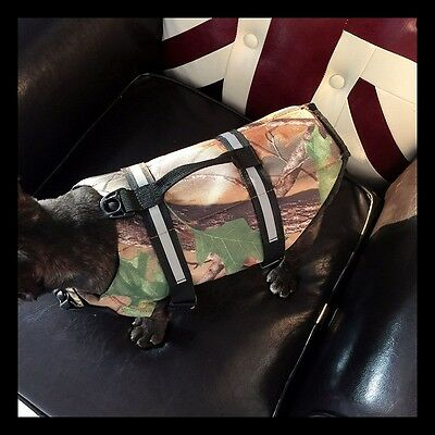Dog Life Jacket Camo Pet Saver Life Vest for Swimming Preserver Puppy Surfing