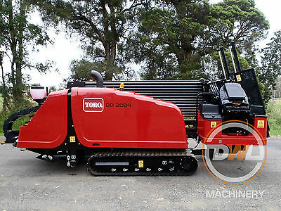 Unused Toro Dd2024 Directional/drill/borer/vermeer/ditch Witch Rrp: $249 000