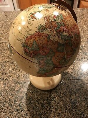 "Replogle Globe 9"" World Classic Series Wood Stand Base"