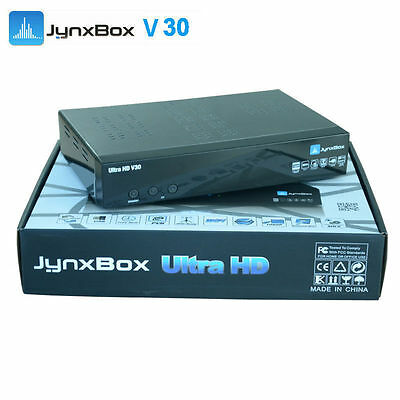Jynxbox Ultra HD V30 FTA Receiver JB200 HDMI WiFi *Latest Model* 100% Original