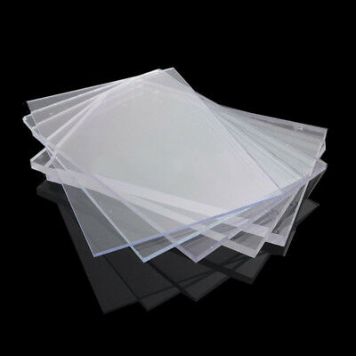 2/3/4/6/8mm Variety Acrylic Perspex Sheet Cut to Size Panel Plastic Satin Glos