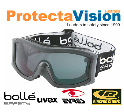 Bolle VAPOUR SMOKE Lens Safety Goggles