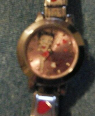betty boop wrist watch quartz 2005 hearst feature syndicate