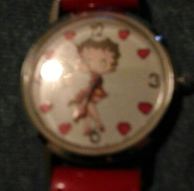 betty boop wrist watch quartz 1980s by bright ideas umlimited