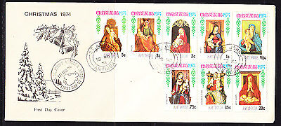 Antigua 1974 Christmas First Day Cover