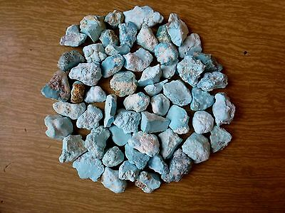 Natural Turquoise, Rough, Nugget 220 gr  unstabilized