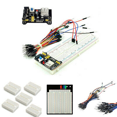 830/3220 tie Solderless  Breadboard Power Supply Jumper Cable Leads Wires Kit