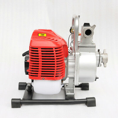 GEE 1 inch 2 Stroke Portable Petrol High Flow Water Transfer Pump Irrigation New