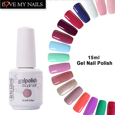 gelpolish Arte Clavo 15ml Soak Off UV Gel Polish Gel Nail Polish Base Top Coat