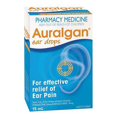 Auralgan Ear Drops 15Ml For effective relief of ear pain