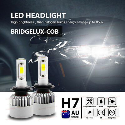 CREE H7 120W 20000LM Car LED Headlights Conversion Kit Globes Bulbs Beam 6500K