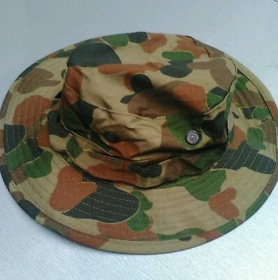 Auscam Boonie Hats Ripstop - Aus Military Spec - Sizes Small To Xlarge