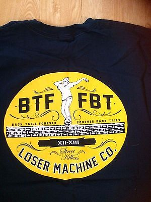 Loser machine forever t shirt navy 860
