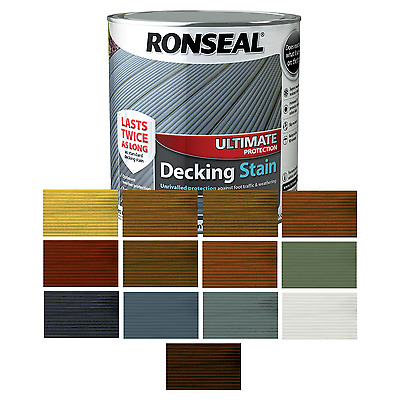 Ronseal Ultimate Protection Decking Stain 2.5L - All Colours