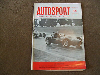 Autosport 14 February 1958 Buenos Aires GP Goggomobil T300 Coupe Cats Eyes Rally