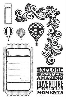 Kaisercraft  Up Up & Away Clear Stamps, Scrapbooking,  Cards, Craft Stamping