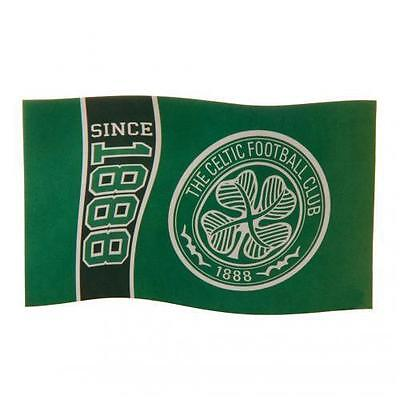 Celtic Football Club Since 1888 Large Flag Crest Official Gift CFC Fan Banner