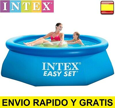 "Piscina hichable INTEX easy  set 1.83m x 51cm - 6"" x 20"" 183cm"